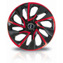 Jogo Calota Universal Esport Tuning Ds4 Aro14 Red/cup