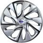 Jogo Calota Aro 14 Ds4 Silver Ford Ka Fiesta Focus 4pecas