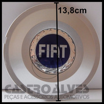 Jg Calota Para Centro Roda Stilo Schumacher 14| 15 | 17 Azul