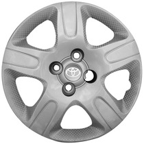 Calota Jogo Etios Corolla Aro 14 Toyota Emblema Resinado 111