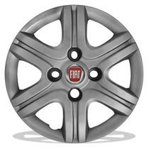 Jogo Calotas Fiat Uno Fire-vivace-etc... Aro13 (04 Peças)