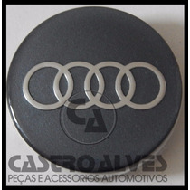 Calota Calotinha Miolo Roda Esportiva Scorro Audi 5,6cm 1 Pç
