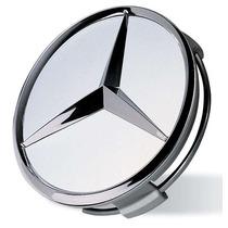 Calota Mercedes Benz 75mm Antiga A B C D Center Cap Classe