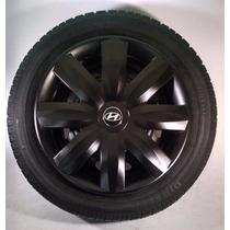 Calota Jogo 4pçs Hb20 P.fosco Emb.original Hyundai P365pfj