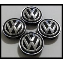 Jg Calota Centro Roda Esportiva Krmai Volkswagen 56mm- 4 Pçs