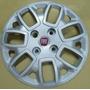 ( 04 ) Calotas Aro 14 Novo Fiat Uno Vivace 2014 + Emblemas