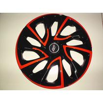 Calota Esportiva Aro 14 Modelo Ds4 Red Cup 4x100 / 4x108