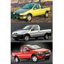 Calotas Aro 14 ( 04 Pçs )p/ Fiat Strada 2011/12 + Emblemas