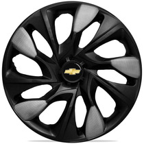Jogo Carlota Aro 14 Ds5 Black Silver Gm Corsa Prisma Montana