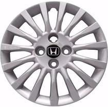 Jogo Calotas Esportivas Honda Civic-fit-city Aro 15