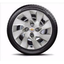 Calota Jogo 4pç Onix Corsa Celta Prisma Aro14 Chevrolet 133j
