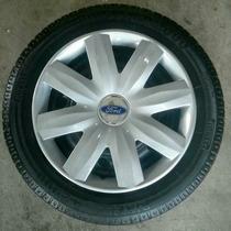 Calota Jogo New Fiesta, Ka, Focus, Escort Ford Aro 14 P365j
