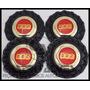 Jg Calota Miolo Roda Bbs Brw 900 Aro 15|17|18 Preta - 4 Pçs