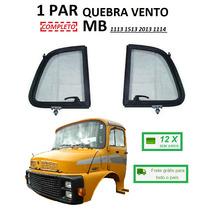 Par Quebra Vento Caminhão Mb 1113 1114 1513 2013 (completo)