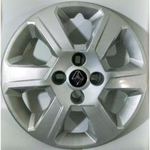 Calota Sandero Logan Symbol Aro 15 Emb. Alumínio Renault 084