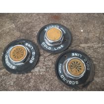 3 Calotinhas De Rodas Esportivas Antigas Raro Modelo Gol Etc
