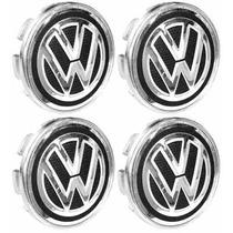 Jogo Calotinha Centro De Roda Volkswagen 51mm