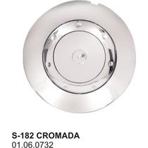 Calota S 182 - Scorro - Cromada Sem Emblema