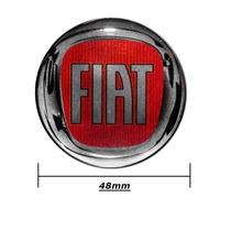 Kit Sub Calota Centro De Roda Miolo Fiat Veicular Acrilico