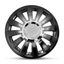 Jogo Calota Cromada Universal Audi S8 Aro 15 #2318