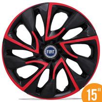 Carlota Esportiva 15 Ds4 Vermelha Grand Siena Idea Stilo A