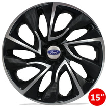 Jg Carlota 15 Ds4 Black Chrome Emblema Ford New Fiesta Focus