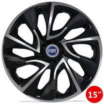 Jg Carlota 15 Ds4 Blackchrome Fiat Grand Siena Punto Stilo A