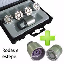 Kit Porca Antifurto Rodas E Estepe Ecosport Nova Ecosport