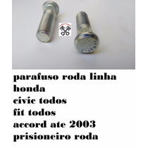 Parafuso Roda Prisioneiro Honda Civic Fit Accord Crv
