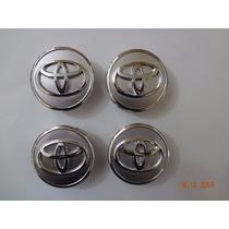 Calota Centro De Roda Toyota Corolla - Jogo 4