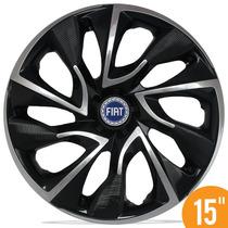 Carlota 15 Ds4 Preta Black Chrome Grand Siena Idea Stilo A