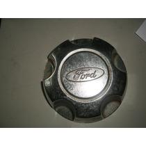 Calota Centro Roda Ford Original Semi Nova