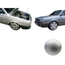 Calotinha Central De Roda Orbital Volkswagen Prata