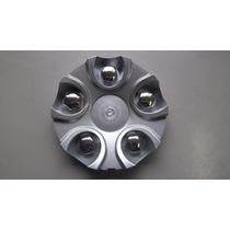 Calotinha Para Roda Noova Modelo Nv22 Prata Aro 15 Ou 17 Gtx