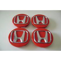 Jogo Calotas Centro Rodas Da Honda Do New Civic Si. Lxr, Lxs