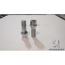 Jogo Parafusos Cromados Roda Esportiva Peugeot 307, 308, 406