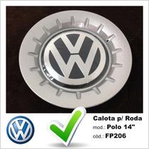 Calota Tampa Miolo Roda Original Volkswagen Polo Aro 14
