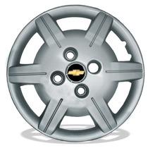 Jogo Calota Aro 13 Celta Corsa Prisma Classic + Emblema 4pçs