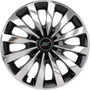 Calota Aro 13 Esportiva Chrome/black Univrs. Fiat/ford/gm/vw