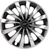Calota Aro 13 Esportiva Chrome/black Univrs. Fiat/ford/gm/vw