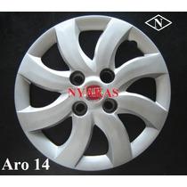 Calota Fiat Palio Attractive Aro 14 (4 Peças) - Lançamento!!