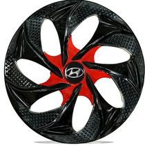 Jogo Calota Aro 14 Esportiva Evolution Hyundai Hb20 Hb20s