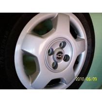 Jogo Calotas Aro 14 ( 04 Peças ) P/ Novo Corsa Sedan E Hatch