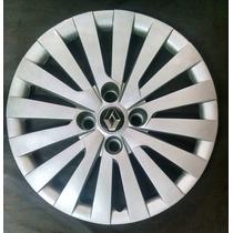 Calota Sandero Logan Symbol Aro 15 Emb. Alumínio Renault P05