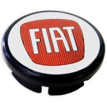 Calota Tampa Centro Roda Fiat Punto Com Etiqueta Resina