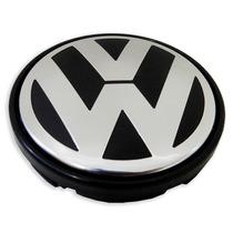 Calota Tampa Centro Roda Volkswagen Vw Gol G5 Com Etiqueta