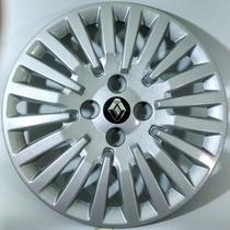 Calota Sandero Logan Symbol Aro 15 Emb. Alumínio Renault 476