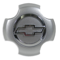 Calota Tampa Centro Roda Prata Cromado Chevrolet Gm Montana
