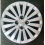 Calota Civic Fit City Honda Prata Emblema Aluminio Aro15 P05
