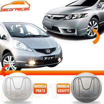 Calota Tampa Centro Roda Honda New Civic Fit City Nova